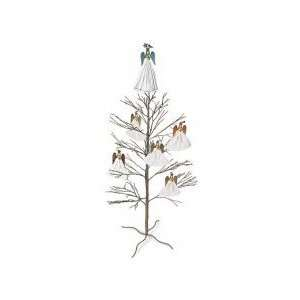 Champagne Glitter Twig Holiday Christmas Tree   50