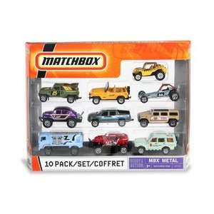 Machbox 10 PackOff Road and Rescue Vehicles oys & Games