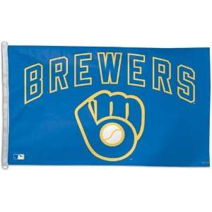 Milwaukee Brewers Flag 3x5 Vintage Throwback Logo:  Sports