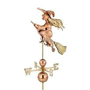 Good Directions Witch Weathervane Patio, Lawn & Garden