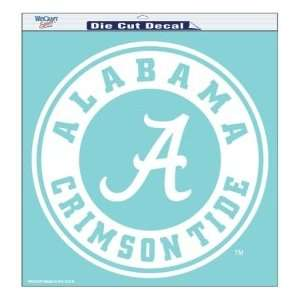 Alabama Crimson Tide Die Cut Decal   18in x18in  Sports
