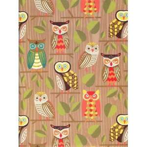 Owls Gift Wrap Paper