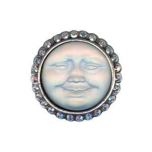 Kirks Folly Moon Beam Glass Pin Seaview Mystery Glass