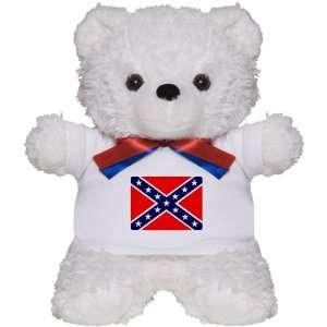Teddy Bear White Rebel Confederate Flag HD: Everything