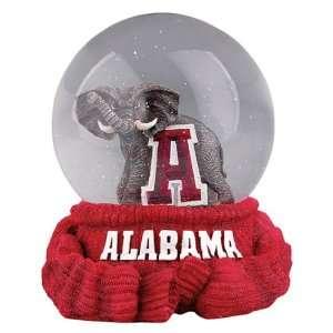 Treasures Alabama Crimson Tide Musical Snow Globe Sports