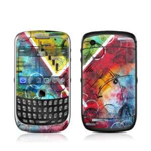 Beauty & Chaos Design Protective Skin Decal Sticker for BlackBerry
