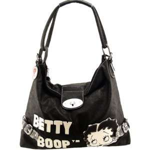 Classic Betty Boop Shoulder / Hand Bag in Black Color