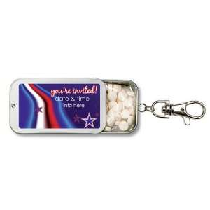 Wedding Favors Stars And Stripes Party Design Personalized Key Chain
