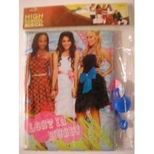 Disney High School Musical Foam Diary with Lock Toys