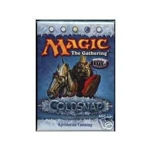Magic the Gathering Cold Snap Kjeldoran Cunning Precon Theme Deck