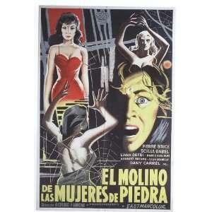 Corazon de las mujeres de piedra, El Movie Poster (11 x 17