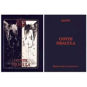 Conte Dracula (Count Dracula) Guido Crepax Books