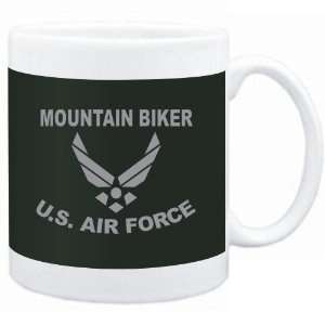 Mug Dark Green  Mountain Biker   U.S. AIR FORCE  Sports