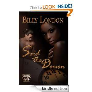 Said the Demon to Little Miss Eva Billy London  Kindle