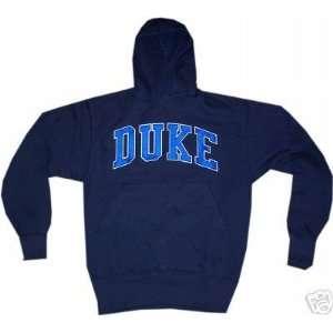 Duke Blue Devils Hooded Hoodie Navy Sewn on Majestic