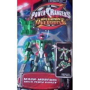 Power Ranger Operation Overdrive   Mach Morph Green Power