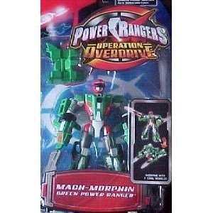 Power Ranger Operation Overdrive   Mach Morph Green Power