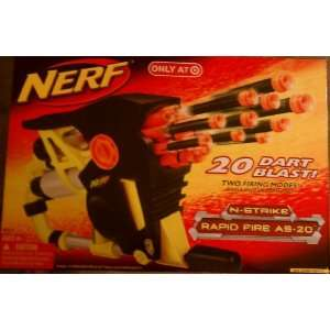 Nerf Rapid Fire 20 Toys & Games