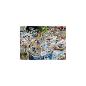 Love River Cruise Chaos   1000 Pieces Jigsaw Puzzle  Toys & Games