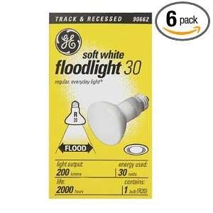 GE 14891 30 Watt 200 Lumen R20 Indoor Flood Light Bulb, Soft White