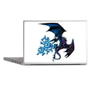 14 Skin Cover Blue Dragon with Lightning Flames