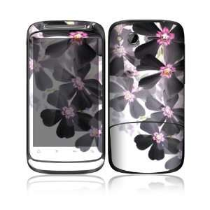 HTC Desire S Decal Skin   Asian Flower Paint Everything