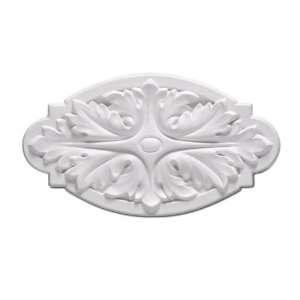 Focal Point 85315 Small Wisteria Rosette 5 13/16 Inch by 3 1/8 Inch by