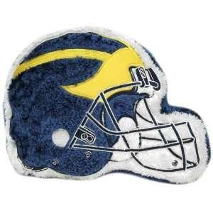 Michigan Wolverines 14 Team Logo Plush Pillow  Sports