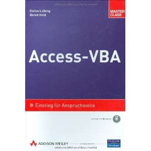 Access VBA Master Class (9783827322647): Bernd Held: Books