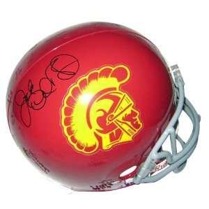 Jack Del Rio Autographed USC Trojans Deluxe Replica Helmet
