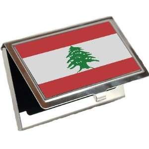 Lebanon Flag Business Card Holder