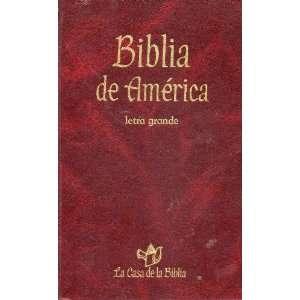 Biblia De America (9788428815413) letra grande Books