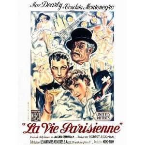 La vie parisienne Poster Movie French B (11 x 17 Inches   28cm x 44cm