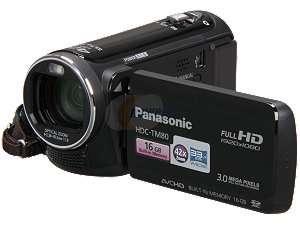 Newegg   Panasonic HDC TM80K Black 1/5.8 MOS 2.7 230k LCD 34X