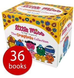 Little Miss Library Collection   36 Books. (Paperback)   Roger