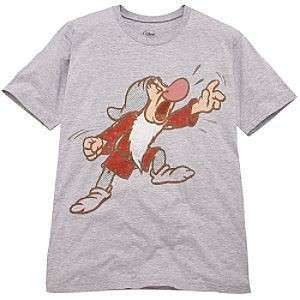 NEW Disney Store Griping Grumpy T Shirt Tee Mens XL NIP