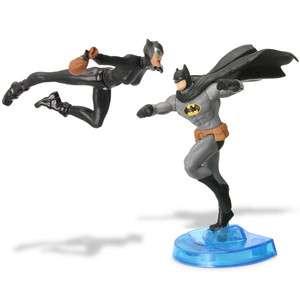 DC UNIVERSE FIGHTING FIGURES: CATWOMAN VS. BATMAN ACTION FIGURES