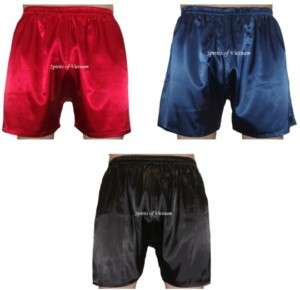 Charmeuse Silk Men Boxer Shorts Underwear ♥Sexy♥ Short