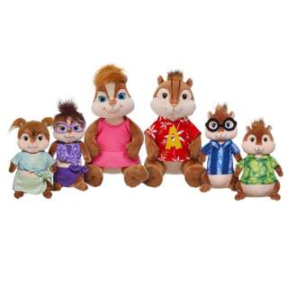 Alvin & Brittany and Friends   Build A Bear Workshop US