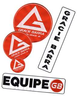 Budovideos   Official Gracie Barra 5 Patch Kit