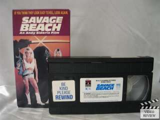Savage Beach VHS Dona Speir, Hope Marie Carlton