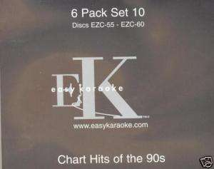 EASY KARAOKE CDG DISC PACK 010