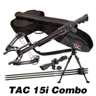 NEW 2012 PSE Tac 15i Crossbow Complete w/ Scope, Case, 9 Bolts, Bi Pod