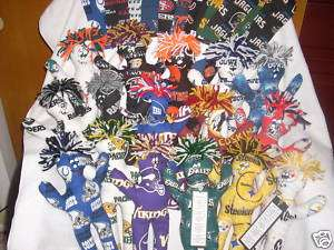 Dammit Doll   Various Sports Fabrics   Steelers,Packers