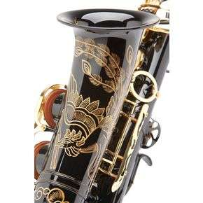 Yamaha Limited Edition Black Lacquer YAS 82ZBP Alto Saxophone with