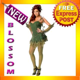 C368 Poison Ivy Batman Villian Batgirl Superhero Fancy Dress Halloween