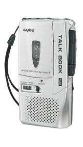 NEW* SANYO TRC 650M Mini Micro Cassette Recorder