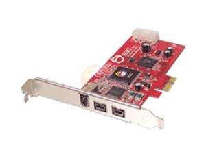 SIIG 3 port FireWire PCI Express x1 card Model NN E38012 S2