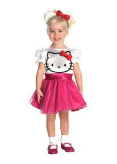 Hello Kitty Costumes  Cheap Kids Cartoon Characters Halloween Costume