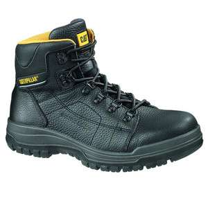 CAT Caterpillar Dimen Steel Toe Slip Resistant Mens Work Boots Shoes